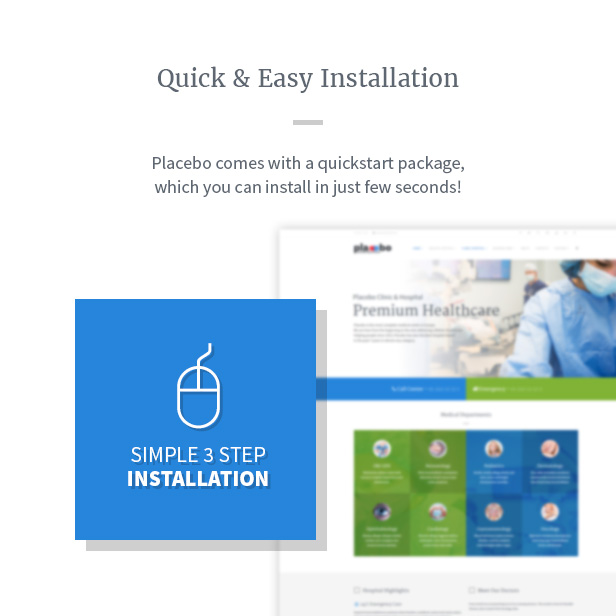 Placebo - Healthcare Industry Joomla Template