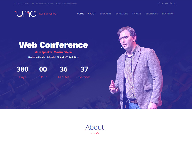 Conference Demo