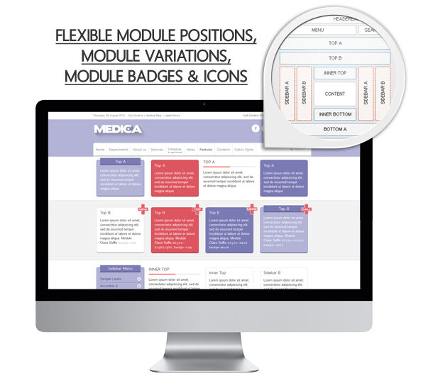modules - Medica - Clean, Responsive, Medical Joomla Theme
