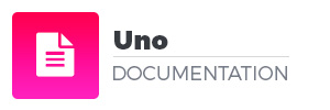 Uno Documentation