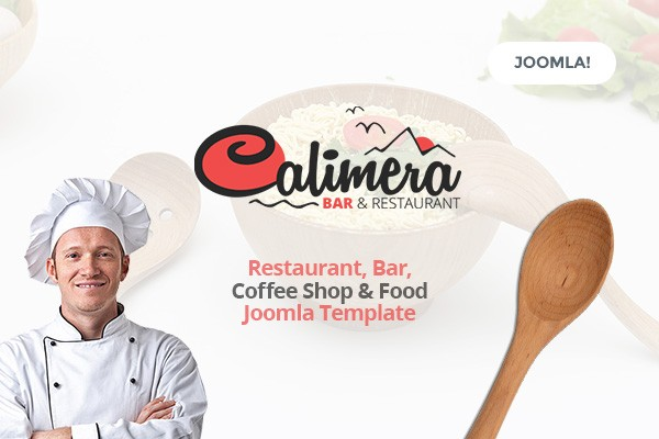 Calimera - Restaurant, Bar, Coffee Shop & Food Joomla Template