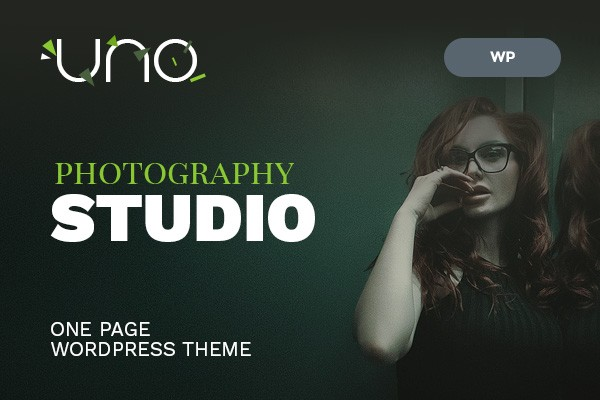 Uno Photography One Page WordPress Theme